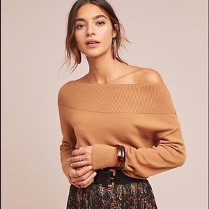 Brown Anthropologie sweater by Moth